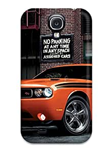 First-class Case Cover For Galaxy S4 Dual Protection Cover 2014 Dodge Challenger Rt Classic