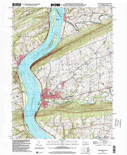 - YellowMaps Millersburg PA topo map, 1:24000 Scale, 7.5 X 7.5 Minute, Historical, 1999, Updated 2001, 26.9 x 22 in - Polypropylene