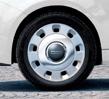 Fiat AG 71804112 Tapacubos de cromo 14 ...