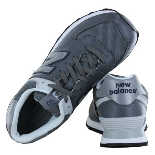 Mens Classic Size 574 Traditional Grey New UK Balance Trainers 7 pqawX