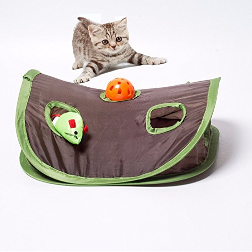 Cat Toy Pet Mice And Animal Toys Funny Platform Kitty Puzzle Toys with Balls Pet Product Balls and Mice (313112cm)