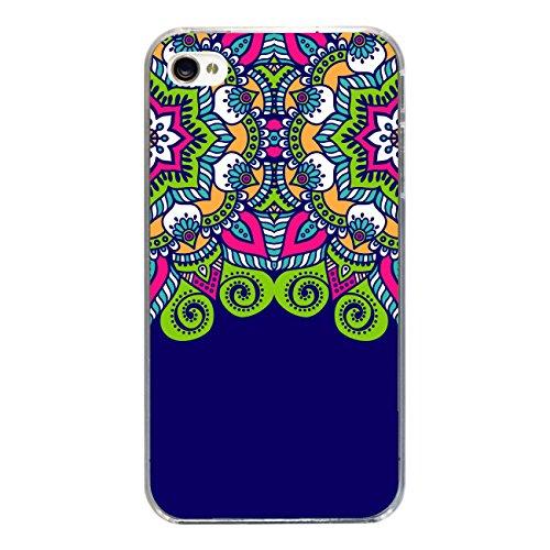 "Disagu Design Case Coque pour Apple iPhone 4s Housse etui coque pochette ""Mandala No.1"""