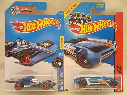 Hot Wheels Formula Flashback & Whip Creamer II Die Cast 2 Car Bundle!