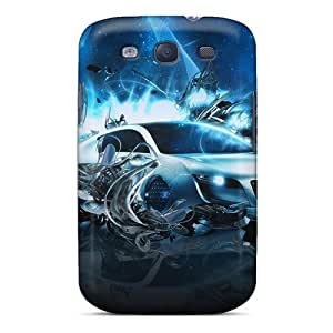 New Audi Car Tpu Skin Case Compatible With Galaxy S3