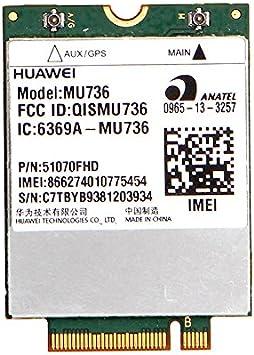 zebra-crossing mu736 WLAN tarjeta LTE 3 G HSPA WWAN integrado ...