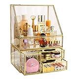 MOOCHI Golden Vintage Glass Cosmetic Makeup