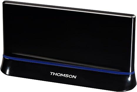 THOMSON 00131917 - Antena de Interior amplificada (HDTV, 3D ...