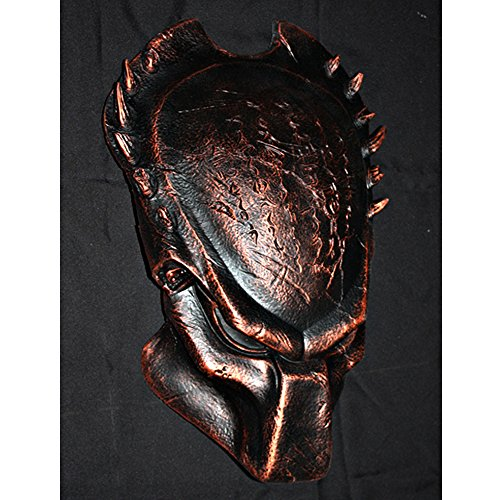 1:1 Full Scale Prop Replica Steampunk Wolf Predator AVP Helmet Mask Wall hanging PD11 (Predator Costumes For Kids)