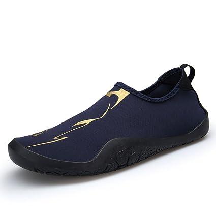 NAN Calcetines de agua Zapatos descalzos Beach Surf Diving Household Slippers Piscina Yoga Calcetines Hombres (