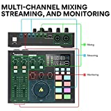 Audio Interface with DJ Mixer and Sound