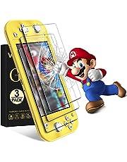 VGUARD [3-Pack] Skärmskydd för Nintendo Switch Lite, Härdat Glas Film för Nintendo Switch Lite- Screen Protector [9H hårdhet] [Anti-repa] [Bubbelfri] [Kristallklar]