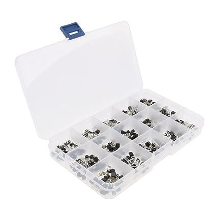 Sharplace Kit De Surtido De Transistor Accesorios Ordenador Portátil Cámara Fotografía