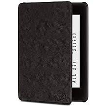 Funda de piel premium para Nuevo Kindle Paperwhite (sólo sirve para Kindle Paperwhite 10ª generacion), color negro ónix