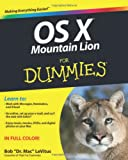 OS X Mountain Lion for Dummies, Bob LeVitus and Bob Levitus, 1118394186