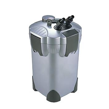 LIFUREN Filtro de pecera Cubo de Filtro Externo Mudo con luz Filtración Multicapa (Tamaño : 300L/H): Amazon.es: Hogar