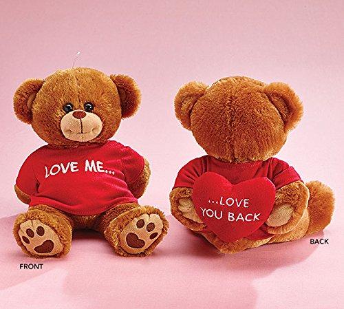 Love Me Love You Back Plush Valentine Bear