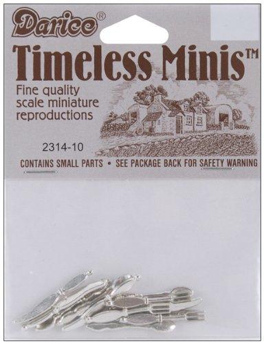WMU 659593 Timeless Miniatures - Silverware - 12-Package