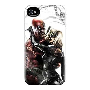 Ojr1629qQDk Case Cover Deadpool I4 Iphone 4/4s Protective Case