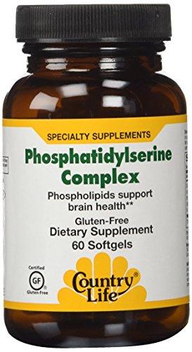 Country Life Vitamins Phosphatidylserine Complex 60 Soft ()