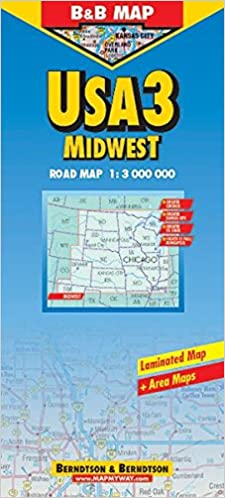 Buy USA Midwest (Road Maps) Book Online at Low Prices in ...