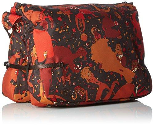 Piero Guidi 21411 Magic Circus Camouflage Borsa a Tracolla, 37 cm, Wild