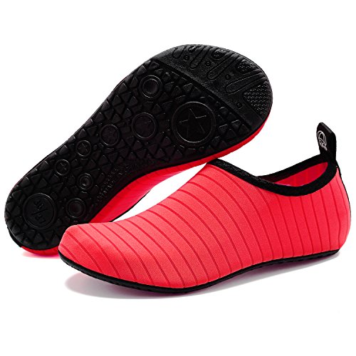 Quick for Men Yoga Water Socks on Peach Sports Dry VIFUUR Kids Slip Barefoot Shoes Women Aqua 7IP0xfq
