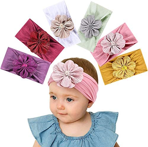 Turband Elastic Head Bands For Baby Girls Headband Baby Hair Band Accessories