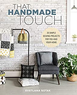 Book Cover: That Handmade Touch: 20 Simple Sewing Projects for You and Your Home