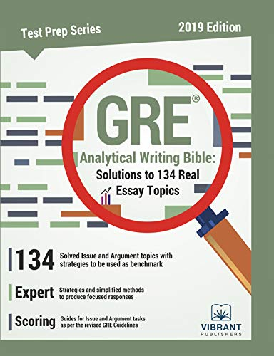 gre analytical writing template