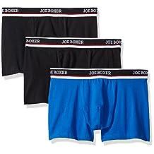 Joe Boxer Men's 3 Pack Stretch Trunk