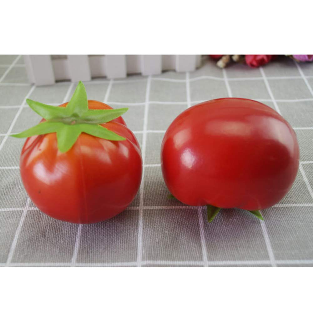 Bupin Simulation tomato simulation fruit home decoration photography props kitchen living room decoration