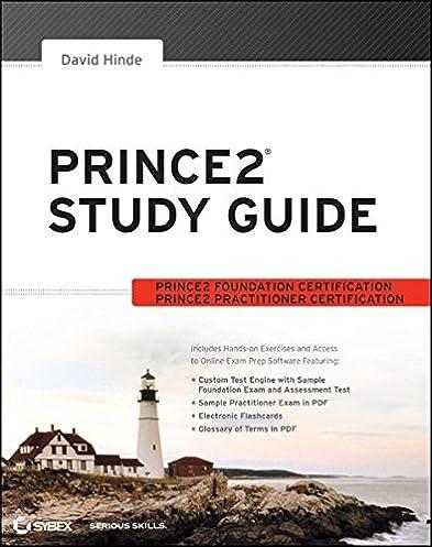 amazon com prince2 study guide 8601200470710 david hinde books rh amazon com prince2 study guide david hinde pdf prince2 study guide 2017