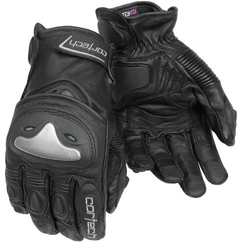 Cortech Vice 2.0 Men's Leather Street Bike Racing Motorcycle Gloves - Black / Large (Gloves Vice Leather Motorcycle)