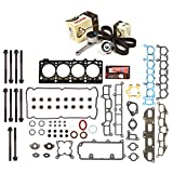 Evergreen HSHBTBK5026 Head Gasket Set Head Bolts Timing Belt Kit 95-00 Plymouth Dodge Chrysler 2.4 DOHC