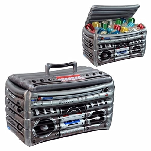 Inflatable 80's BOOMBOX COOLER Decoration80's PartyBACK 2 THE FUTURE