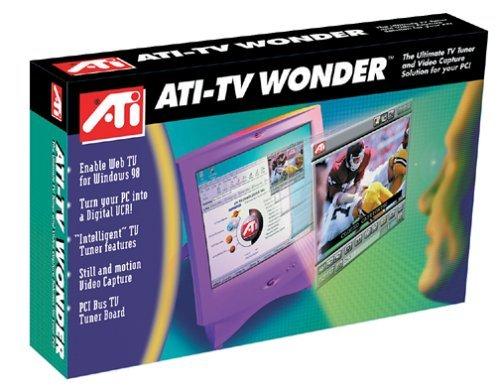 ATI Inc。テレビTVチューナーwith Wonder NTSCビデオキャプチャ [並行輸入品]   B07969TQGB