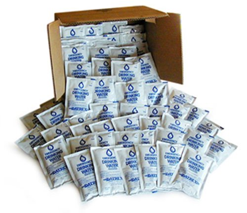 Datrex Emergency Survival Water Pouch (Pack of 64), 125ml by Datrex
