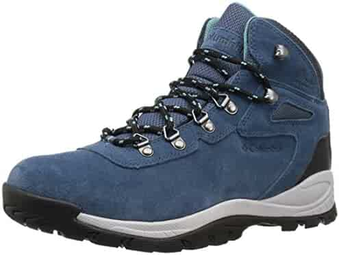 Columbia Women's Newton Ridge Plus Waterproof Amped Boot, Ankle Support, High-Traction Grip