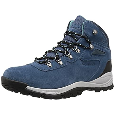 - 51qYzBS1s5L - Columbia Women's Newton Ridge Plus Waterproof Amped Boot, Ankle Support, High-Traction Grip