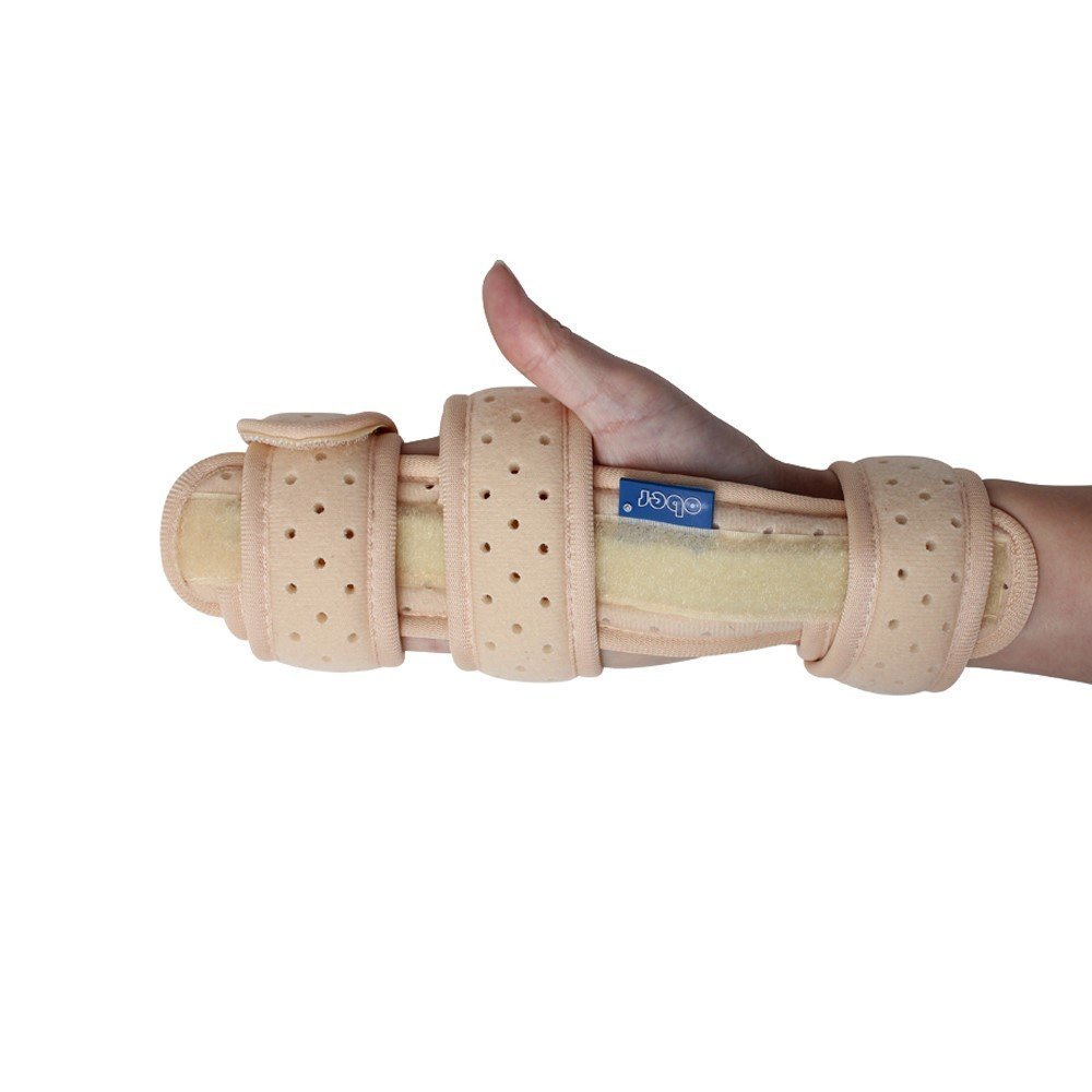 OBER Wristbands Brace Hand Wrist Support Medical Finger Aluminum Splint Fixator Carpal Tunnel Syndrome Fracture Arthritis Pain Recovery of Wrist Joint Dislocation