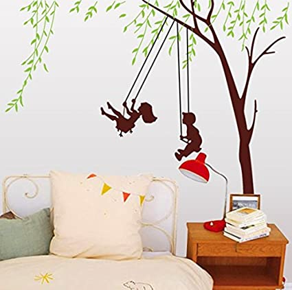 Syga Wall Sticker (PVC Vinyl, 61 cm x 5 cm x 5 cm, 9058) Wall Stickers at amazon
