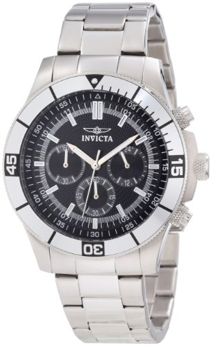 Invicta Men's 12839 Specialty Chronograph Black Dial Watch by Invicta