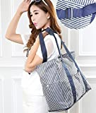 Orpio Foldable Waterproof Large Capacity Travel Luggage Shopping Handbag