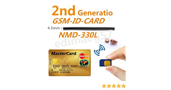 Only Card EDIMAEG REAL NMD-330L 4.5 W GSM ID BOX Card