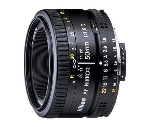 Nikon 2137 AF Nikkor 50 mm F/1.8 D FX Full Frame Prime Lens for Nikon DSLR Cameras