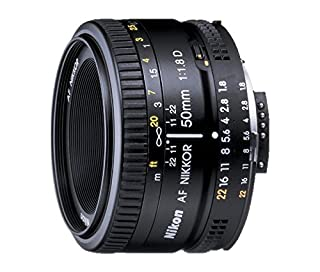 Nikon AF FX NIKKOR 50mm f/1.8D Lens for Nikon DSLR Cameras (B00005LEN4) | Amazon price tracker / tracking, Amazon price history charts, Amazon price watches, Amazon price drop alerts