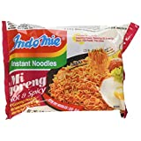 Indomie Instant Fried Noodles Spicy/Hot for 1 Case (30) by Indomie