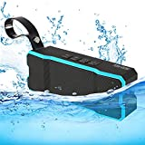 TOMROW Mini Portable Bluetooth Speaker, Stereo Wireless Waterproof Speakers 3D Surround Compatible with All Bluetooth Devices Built-in Microphone