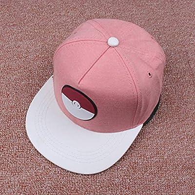 Chicos y chicas planas a lo largo de la gorra de béisbol letras ...