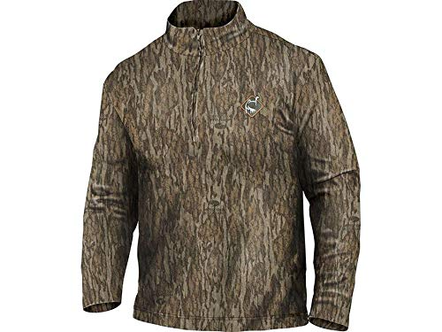 Ol39;Tom Performance 1/4 Zip Long Sleeve Shirt - Bottomland (2X-Large)